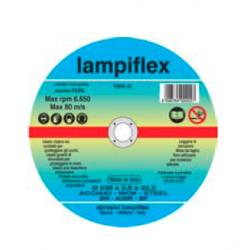 LAMPIFLEX DISCO TAGLIO FERRO Ø 115x1,6x22