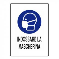 CARTELLO INDOSSARE MASCHERINA