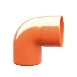 CURVA 87 MAXI PVC  50 MM