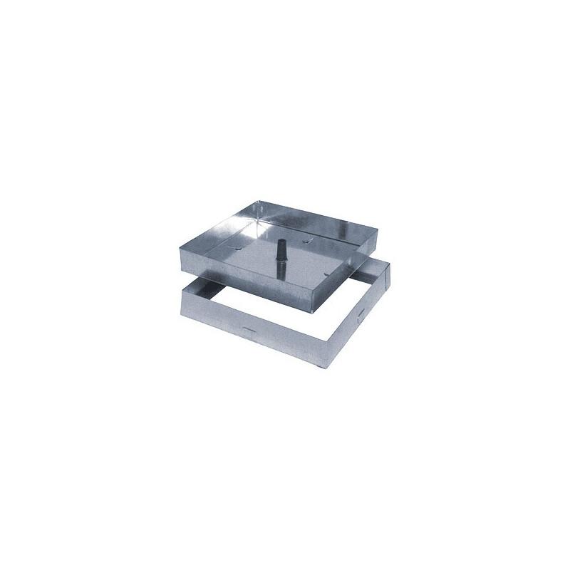 SIGILLO ZINC.LEG. 430X430 H50